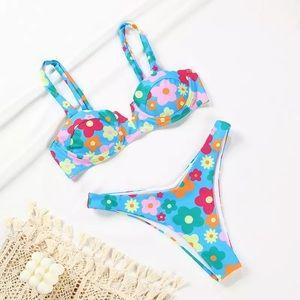 Floral 2-Piece Bikini Set